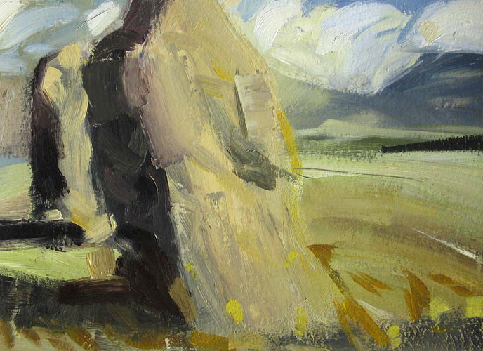 At Castlerigg painting image