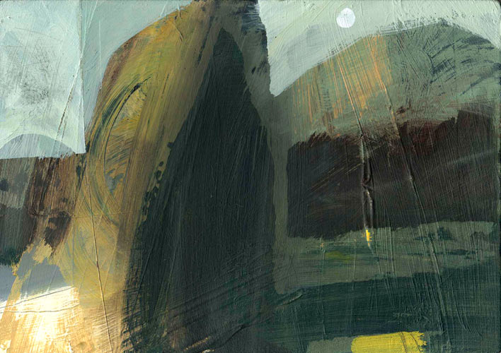 Castlerigg Moon painting images